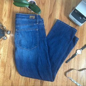 EUC Paige James Crop Jeans